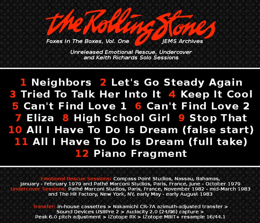 The Rolling Stones Complete Recording Sessions - News
